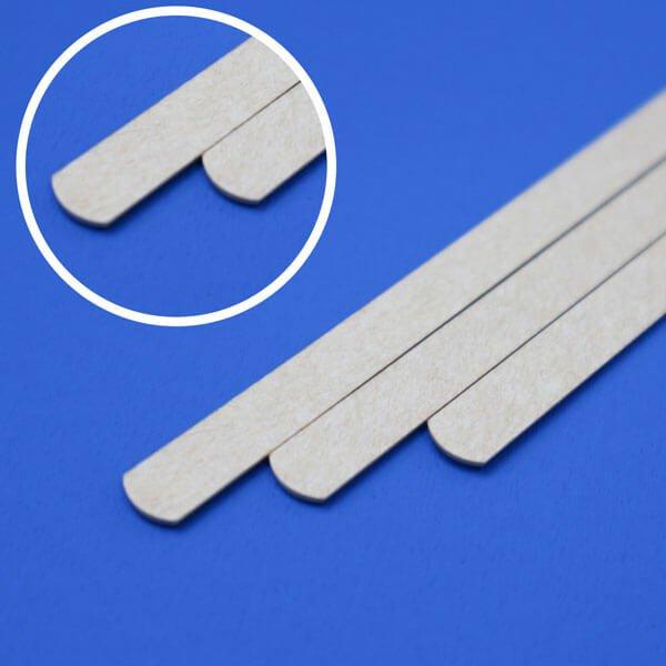 画像1: 紙マドラー 未晒し(みさらし)140mm (1)
