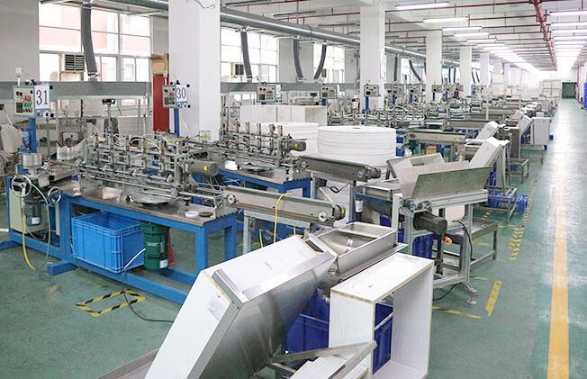 紙ストローの生産ライン全体像