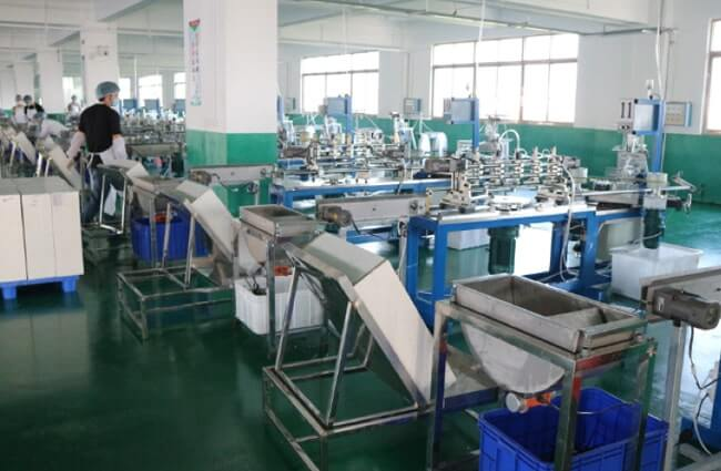 ワークアップの紙ストロー第二工場の全体写真