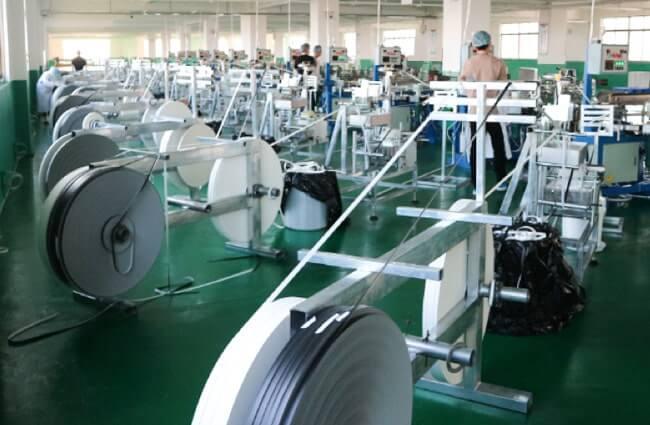 ワークアップの紙ストロー第二工場の全体写真2