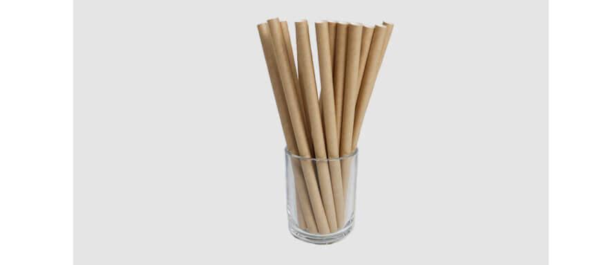 紙ストロータピオカ用茶